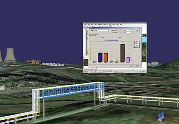 金陵雷竞技不能提现三维可视化管线平台